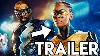 Black Lightning THUNDER Suit Trailer & Supergirl Crossover