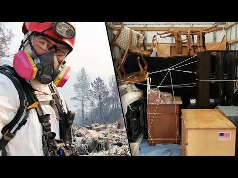 Veteran Donates All His Belongings to Firefighters Who Lost Their Homes