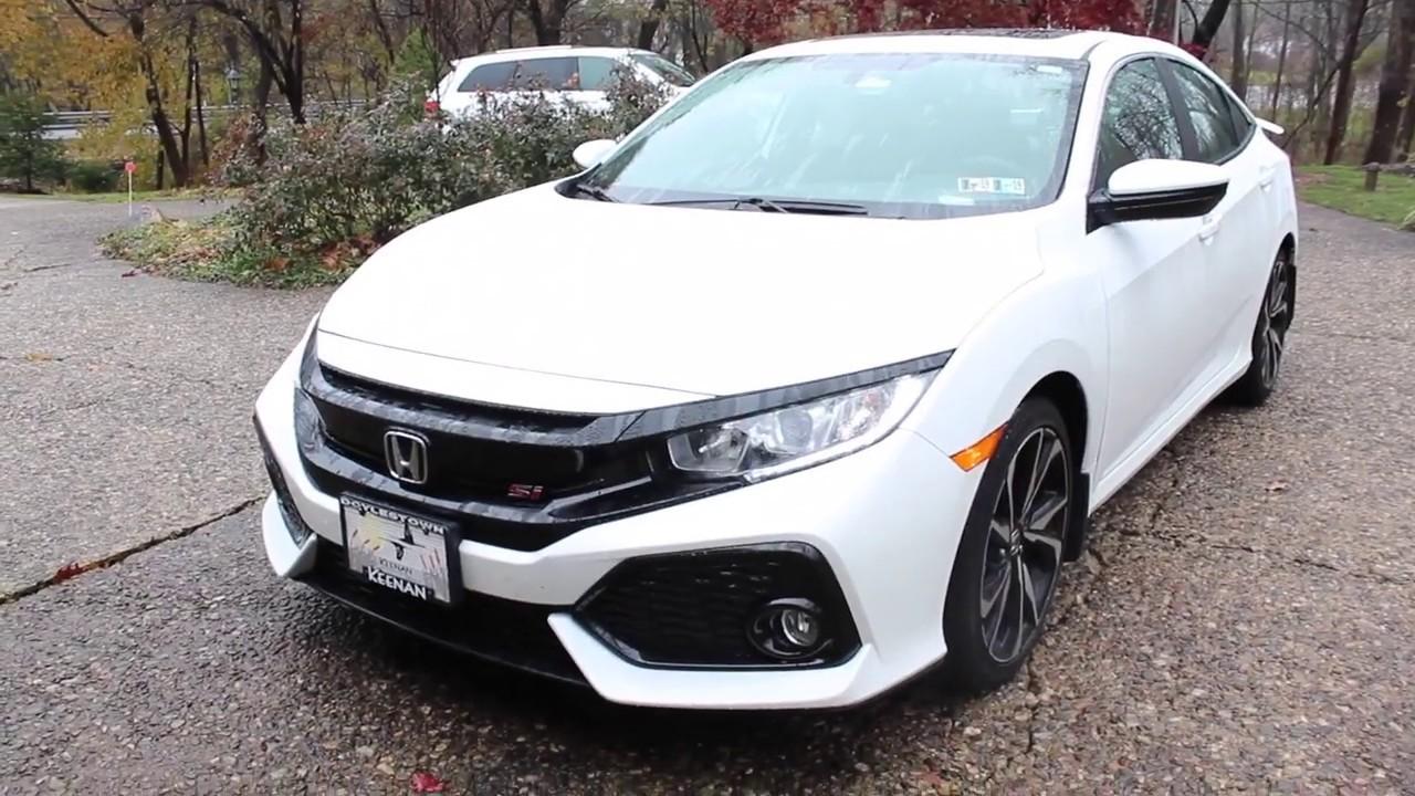Download 2018 Honda Civic Si Hitting Rev Limiter!!!