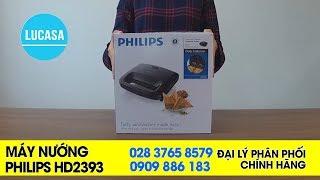 Máy nướng Sandwich Philips HD2393