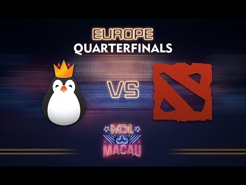 Kinguin vs Evil Corp. Game 1 - MDL Macau EU Qualifier: Quarterfinals - @dragondropdota @nephsensei