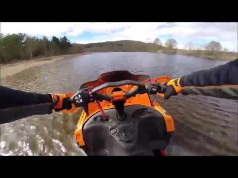 Snowmobile Watercross EM Piteå 2013 by gonkku