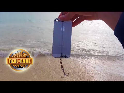 Guy Catches Fish With Iphone - Real Or Fake?