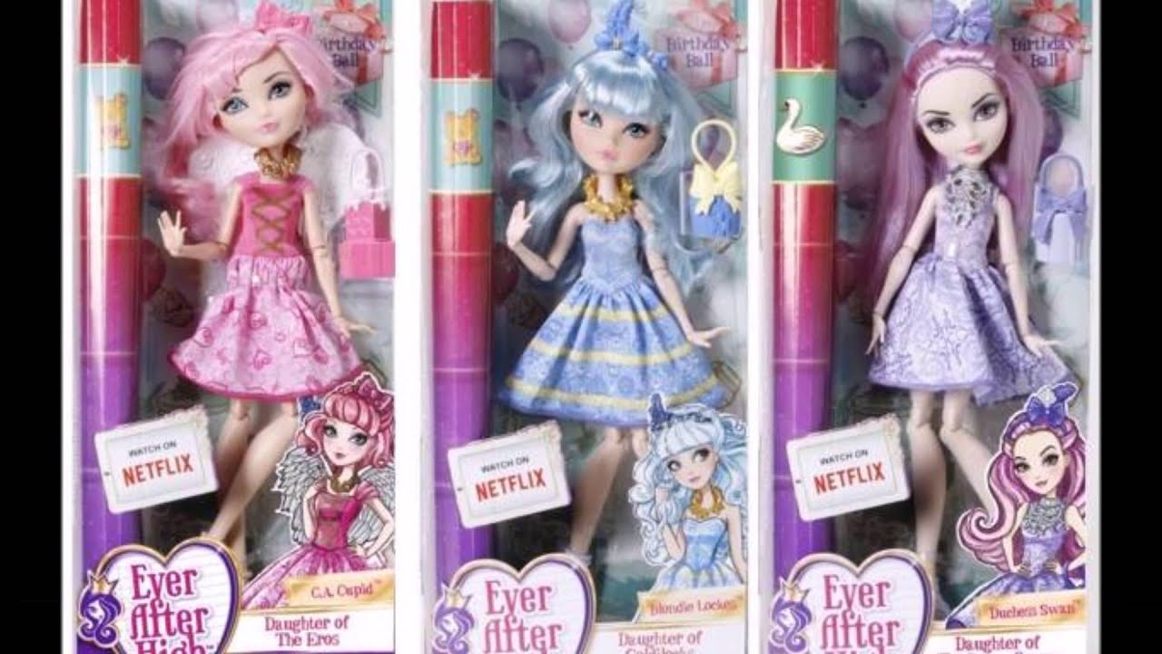 EVER AFTER HIGH : WAVE 7 , BIRTHDAY BALL AND EPIC WINTER