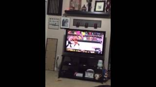 man goes crazy over sting s wwe debut