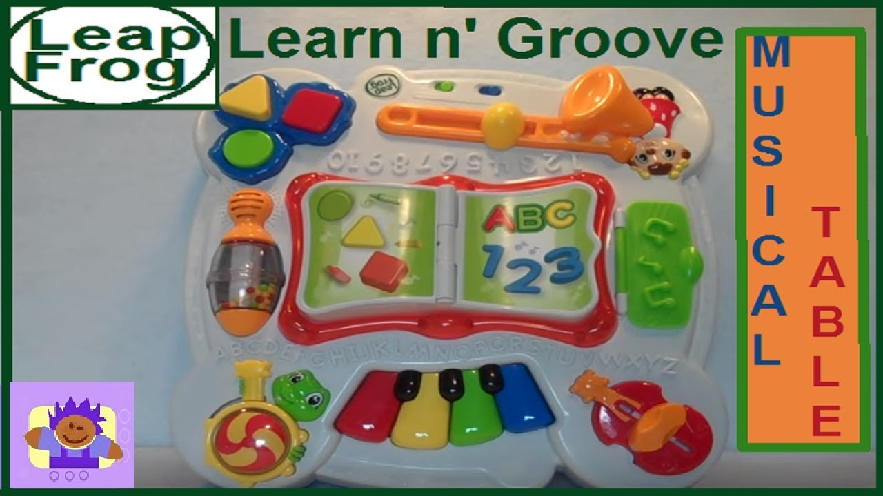 High Quality 2005 LeapFrog Learn And Groove Musical Table   YouTube