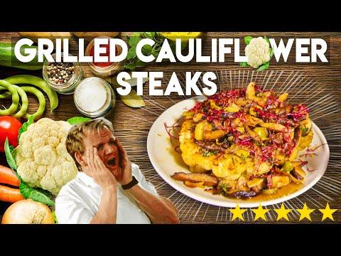 Gordon Ramsay MasterClass Review: Grilled Cauliflower Steaks