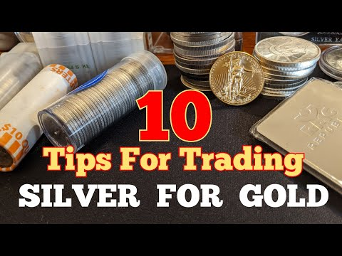 10 Tips for trading silver for gold at the coin shop.  Selling silver on the silver short squeeze.