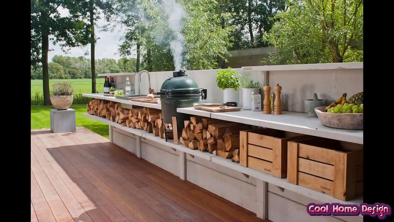 Small Outdoor Kitchen Ideas - YouTube