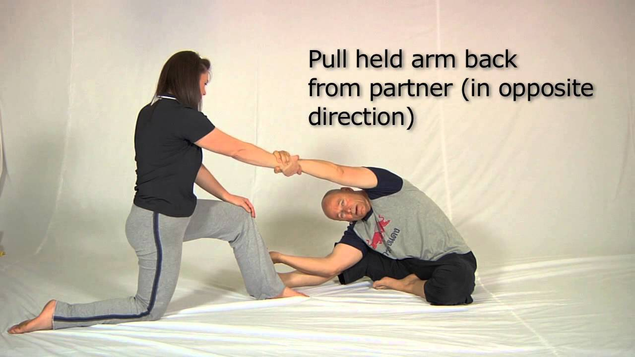 Partner Quadratus Lumborum stretch - YouTube
