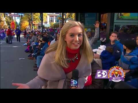 Charlotte Thanksgiving Day Parade clips