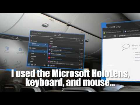 Microsoft HoloLens on Airplanes: Overcoming the Laptop and Tablet Ban!