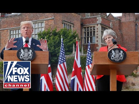 Trump, May tout 'special relationship' during joint news conference