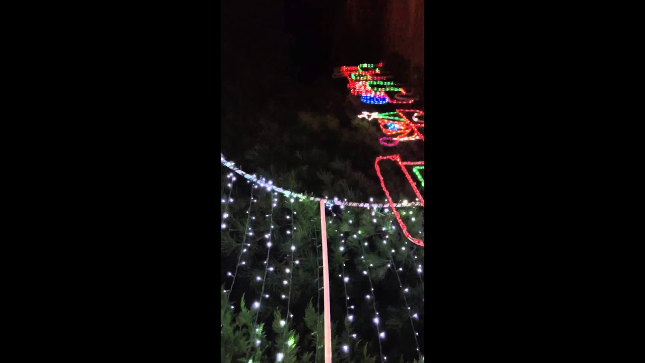 Ellicott city lights - YouTube