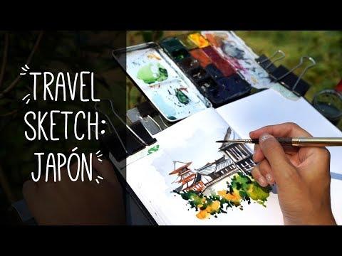 Travel Sketch: Japan