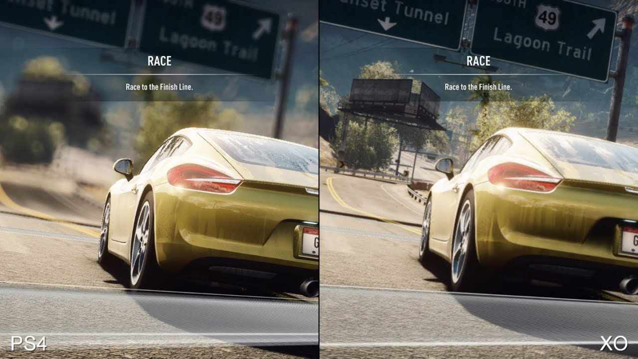 need for speed rivals xbox one vs ps4 comparison youtube. Black Bedroom Furniture Sets. Home Design Ideas
