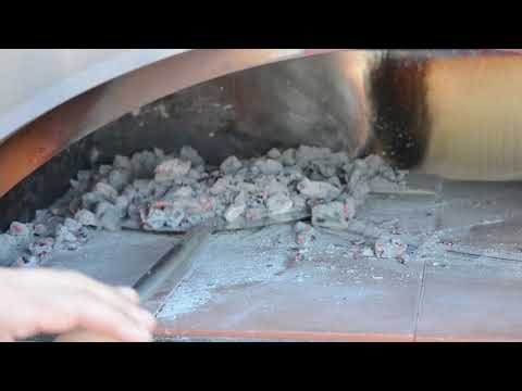 cleaning wood fired oven