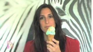 Beautiful ice cream licking model AA.mp4 Thumbnail