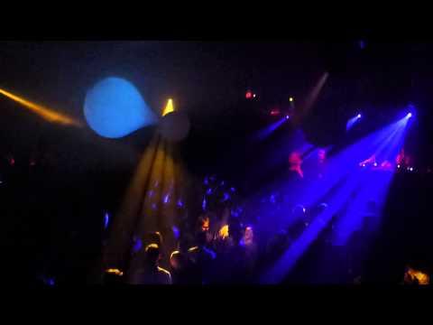 Electronic Lounge Party Forum Bielefeld Led Visuals Performance Dekoration von Voptix magiceye.eu