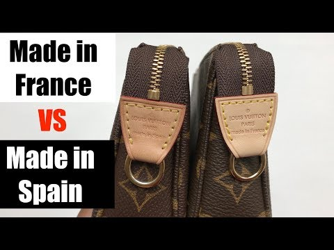 Louis Vuitton Made in FRANCE vs Made in SPAIN | Pochette Accessoires NM