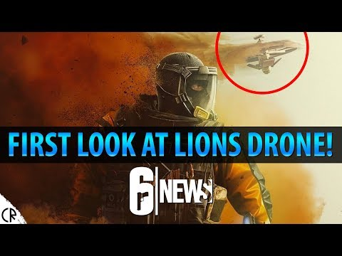 First Look at Lion's Drone! - Operation Chimera Outbreak - 6News - Tom Clancy's Rainbow Six