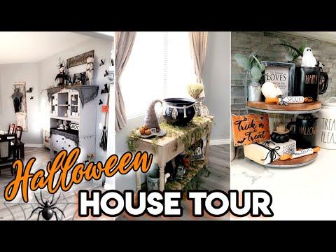HALLOWEEN HOME TOUR 2019 | FARMHOUSE HALLOWEEN