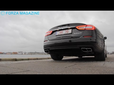 Maserati Quattroporte GTS - ekstrem limousine!
