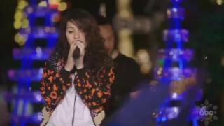 Alessia Cara sings 'How Far I'll Go' (FROM