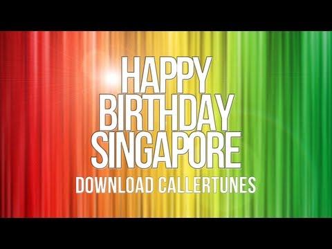 """Happy Birthday Singapore""  Download Connecting Tones"
