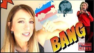 Eat This Hillary! Wikileaks Julian Assange Drops Rare RUSSIAN Bombshell On Her Head…