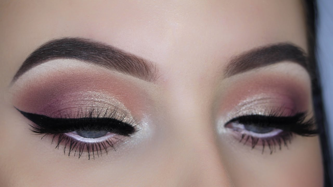 Warm Cat Eye Makeup Tutorial Youtube