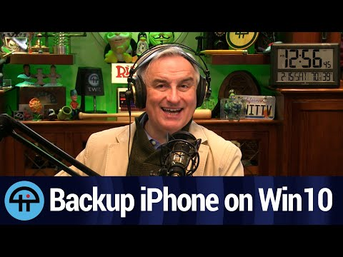 Backing Up an iPhone on Windows 10