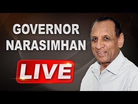 Governor ESL Narasimhan LIVE | Home Function At RajBhavan | ABN LIVE