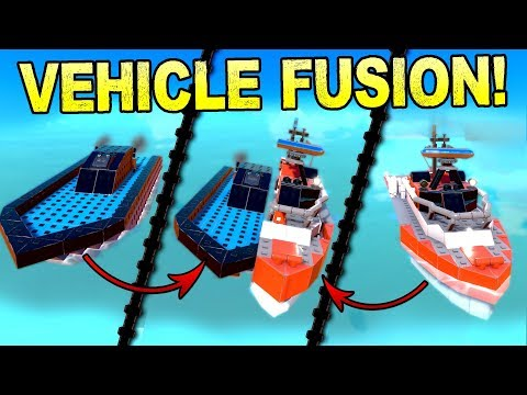 Pokemon Fusion, But WITH VEHICLES! - Trailmakers Early Access Gameplay