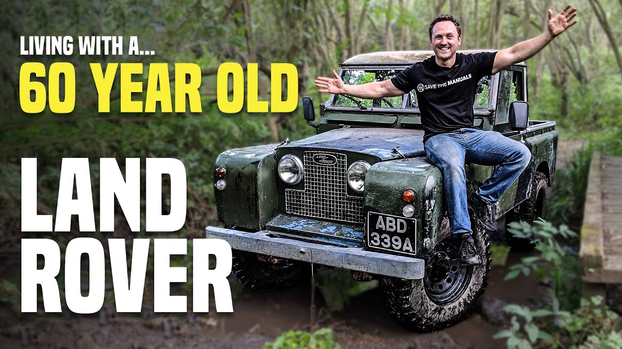 Can You REALLY Daily Drive A 60-Year-Old Land Rover?