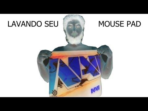 """Como lavar seu mouse-pad qck+ """" SteelSeries """""""