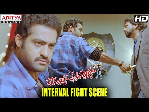 Ramayya Vasthavayya Movie - Interval Fight Scene - Jr.NTR, Samantha, Shruti Hassan