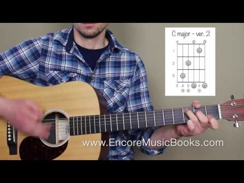 Easy Guitar Tutorial - Brahms Lullaby - LEARN THE CHORDS