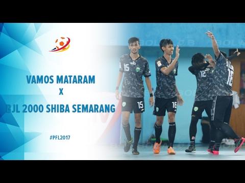 Vamos Mataram Vs BJL 2000 Shiba Semarang - Highlight Pro Futsal League 2017