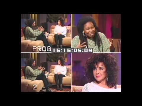 90's Throwback: The Whoopi Goldberg Show - Elizabeth Taylor