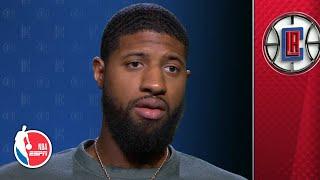 Paul George talks battle of L.A., LeBron's 17th season and Clippers' fan base   NBA on ESPN