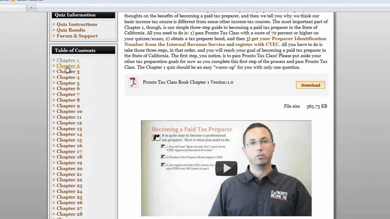 How Do You Become A Tax Preparer Tax Courses Training For Tax