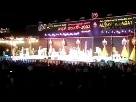 Shann Mukherjee live concert in Alvas college
