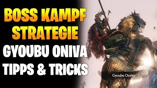 Sekiro Boss Strategie - Gyoubu Oniva, Angeketteter Oger, General Naomura & Tenzen   Kampf Tipps