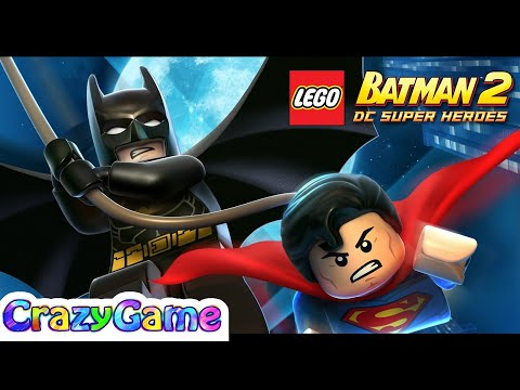 LEGO Batman 2 DC Super Heroes Complete Game - Best Game for Children & Kids