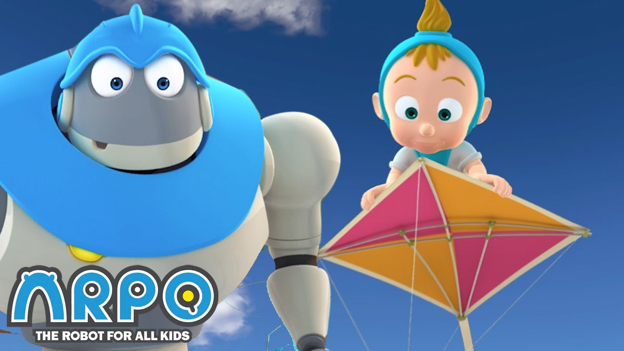 Baby Daniel is FLYING! - ARPO the Robot | 에피소드를보고 | Cartoons for Kids | Robot Animation