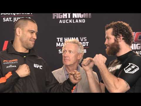 Fight Night Auckland: Media Day Highlight