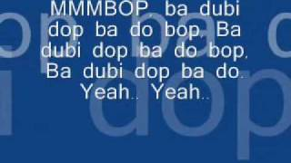 Video Hanson - Mmmbop (Lyrics) download MP3, 3GP, MP4, WEBM, AVI, FLV Januari 2018