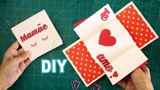 DIY Cartão Explosivo 3D   Dia das Mães