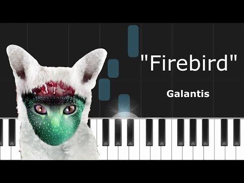 """Galantis - """"Firebird"""" Piano Tutorial - Chords - How To Play - Cover"""